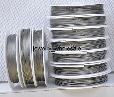 0.25mm 0.3 0.35 0.38 0.45 0.5 0.6 0.7 0.8 1.0mm  Steel Beading Wire Tiger tail
