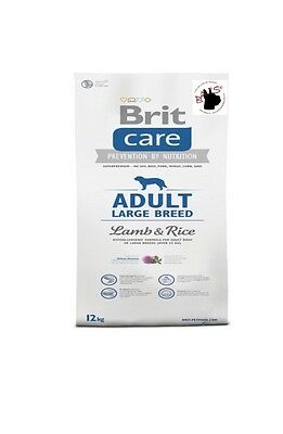 Brit Care Adult Large Lamb 12kg Rice - 722