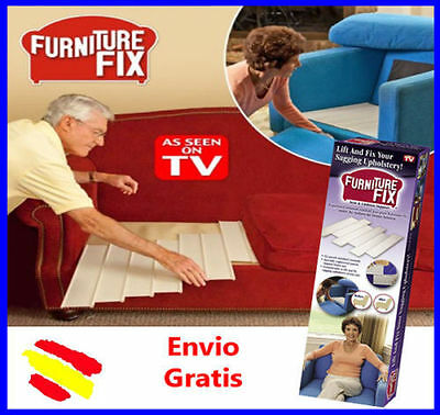 FURNITURE FIX 12 PANELES Reparacion Sofa Sillon Cama 12 LAMINAS VISTO en TV