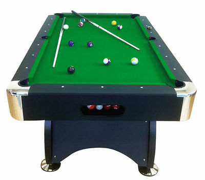 7Ft geen Pool Table Billiard Playing Cloth Indoor Sports Game billiards table
