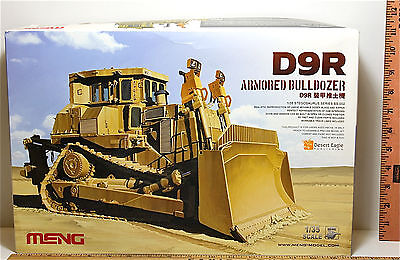 D9R Armored Bulldozer 1:35 Meng Miniature Military Army Plastic Model Kit SS-002