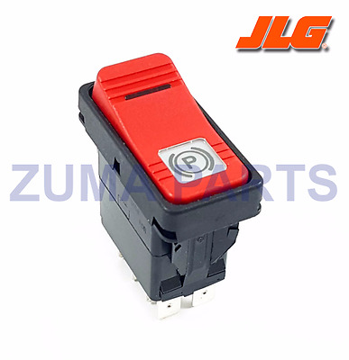 JLG Part 8223054 - NEW [OEM] JLG Rocker Switch / JLG Park Brake Switch