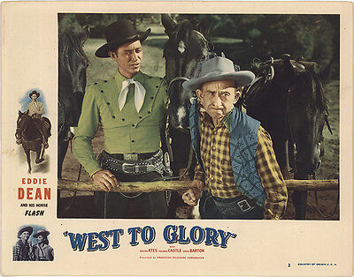 West to Glory 1947 Original Movie Poster Action Adventure