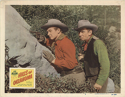 Hills of Oklahoma 1950 Original Movie Poster Western