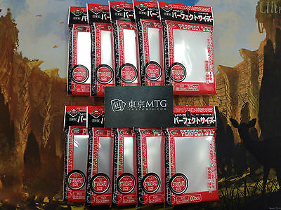 x10 packs Perfect Fit / Size Sleeves KMC Card-Barrier 100 ct