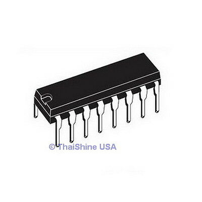 5 x CD4511BE CD4511 4511 BCD to 7 segment Latch Decoder IC - USA SELLER
