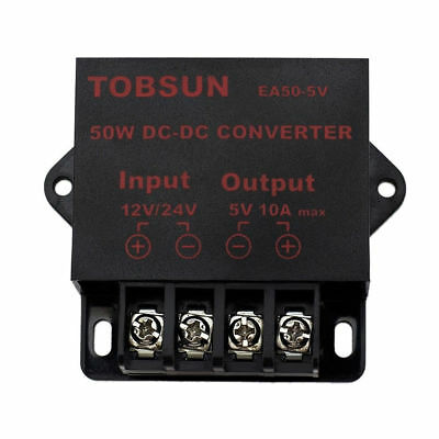 50W 12V~24Vdc to 5Vdc 10A Step Down Voltage Regulator Module Converter Component