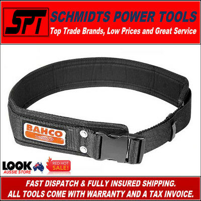 BAHCO 4750-QRLB-1 TOOL BELT QUICK RELEASE 60mm NYLON WORK BELT FOR TOOL POUCHES