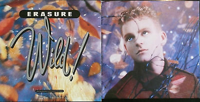 "ERASURE - WILD! - LP 12"" 33 RpM - 1989 - Pop der 80er - TOP!!"