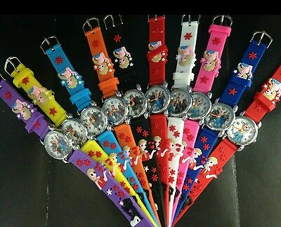 FROZEN PRINCESS WATCH - Kids Girls Boys 3D Watch Wholesale /Job lot