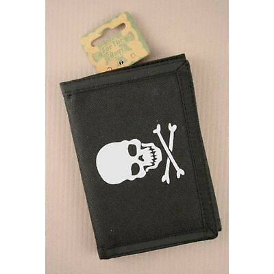 Skull and Crossbones Pirate Wallet