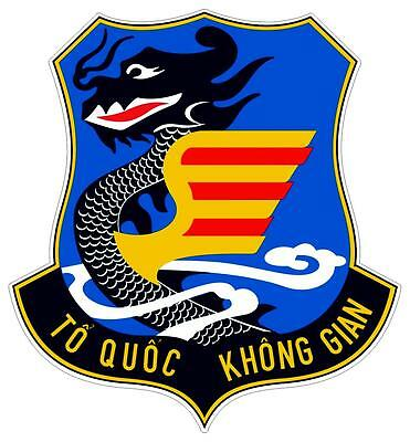 2x sticker autocollant aviation air force avion vietnam du sud