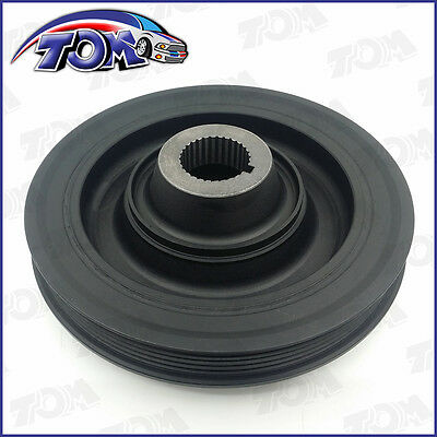 Brand New Harmonic Balancer Crankshaft Belt Drive Pulley For Accord Prelude