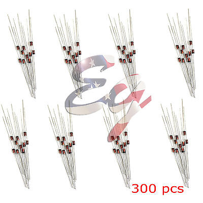 300Pcs (2V – 39V) 30 Values 1/2W 0.5W Zener Diode Assorted kit Assortment Set