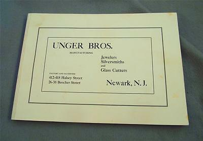 Unger Brothers 1904 Catalog Reproduction
