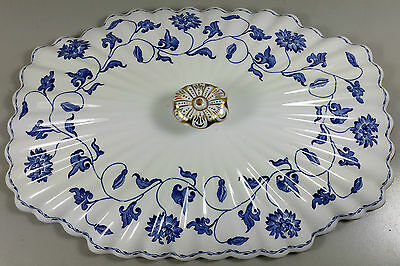 Spode Colonel (Blue) Y6235 Vegetable Tureen Lid Only