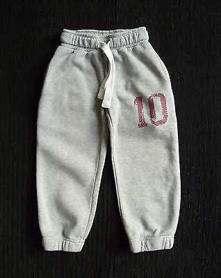 Kids/Childrens clothes BOY 3 year 98cm NEXT grey joggers/soft warm cuff trousers