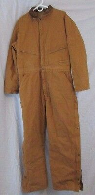 Wolverine Heavyweight Insulated Brown Coveralls Large/30