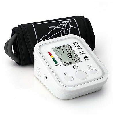 Digital Blood Pressure Upper Arm Monitor Intelisense Automatic Professional Home