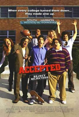 Accepted  Orig Movie Poster Dbl Sided 27x40
