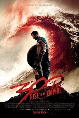 300 Rise Of The Empire Advance B Original Movie Poster  Double Sided 27x40