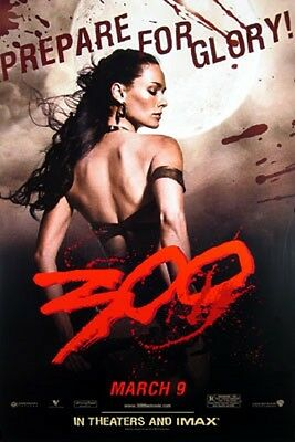 300 QUEEN Orig Movie Poster 24x36 Single Sided