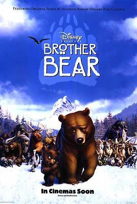Brother Bear Intl Dbl Sided Orig Movie Poster 27x40