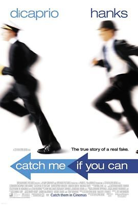 Catch Me If You Can Adv Orig Movie Poster Dbl Sided