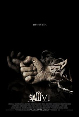 Saw VI Hands Single Sided Orig Movie Poster 27x40