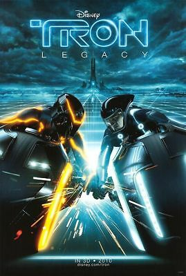 Tron Intl Double Sided Movie Poster 27 x40 Original