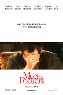 Meet the Fockers Adv A Dbl Sided Orig Movie Poster