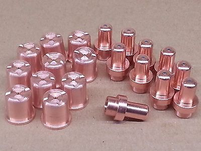 20pc x Nozzles + Electrodes for Eastwood® Versa Cut 40A Plasma Cutter *US SHIP