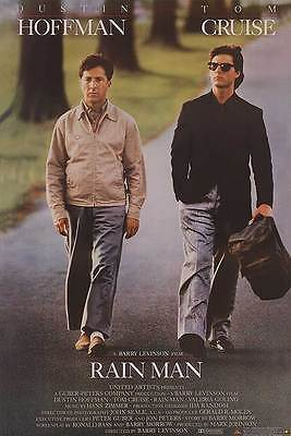 Rain Man Dvd Poster Single Sided Original Movie Poster 27x40 inches