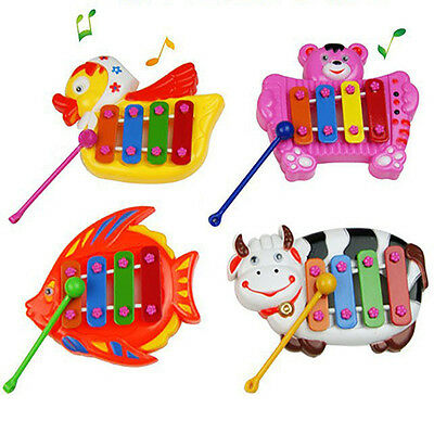 Musical Educational Developmental Lovely Music Bell Toy 4 Tones for Baby Child