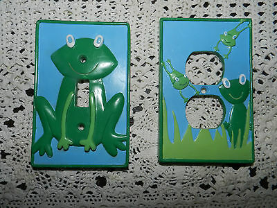 Frog Light Switch Cover & Electric Outlet Cover Set~Free Shipping!