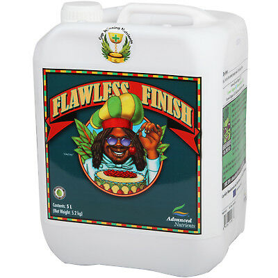 Advanced Nutrients Flawless Finish Hydroponic Flush 1 & 5 Litre Flushing Agent