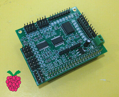 Rs-Pi I2C 16 Channel PMW Servo & 23017 - 16GPIO Board for Raspberry Pi B+ B2