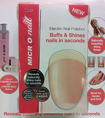 XMAS GIFT IDEA GENUINE Micronail Electric Nail Polisher Free Superfast Delivery!