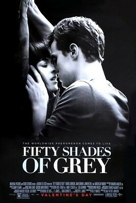 Fifty Shades of Grey Double Sided Original Movie Poster 27x40 inches