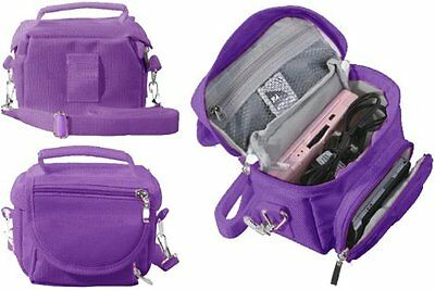 Purple Nintendo DS Lite/DSi/DSi XL/3DS/3DS XL Travel Bag Carry Case
