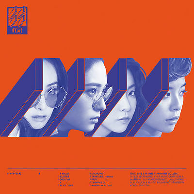 f(x) - 4 WALLS (Vol. 4) Random Cover, CD+Booklet+PhotoCard,4walls