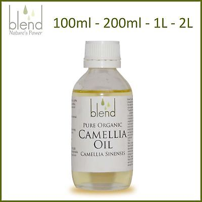 Camellia Oil Tea Seed Oil - Organic Pure Unrefined Cold Pressed