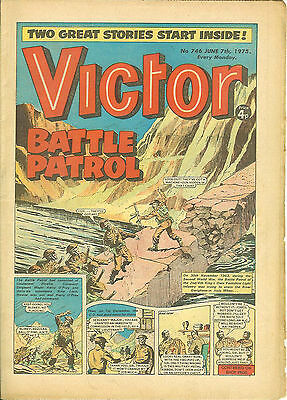 The Victor 746 (June 7, 1975) high grade copy
