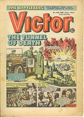 The Victor 757 (Aug 23, 1975) almost a high grade copy