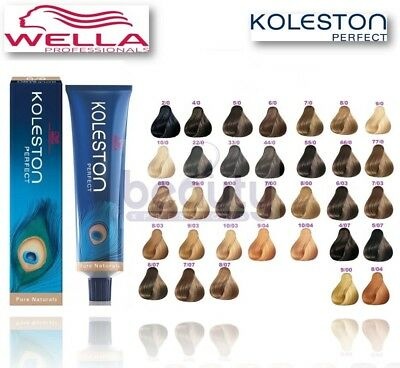Wella Koleston Perfect Permanent Hair Colour Hair Color  - Pure Natural Range