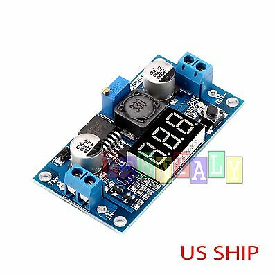 Buck Step-down LM2596 Power Converter Module DC 4.0~40 to 1.3-37V LED Voltmeter