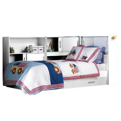 Funktionsbett inkl schubladen regal jugendbett for Bett kinderzimmer