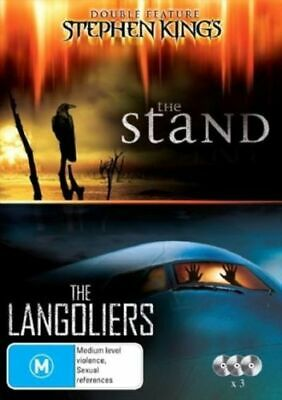 STEPHEN KING The STAND+LANGOLIERS DVD NEW OUTSTANDING TV MINI SERIES TOP 1000 R4