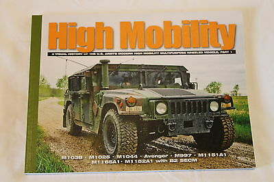 Current US Hummer HHMWV High Mobility Visual History Reference Book