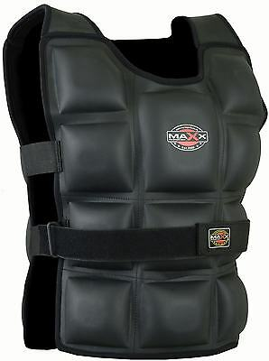 Maxx Pro WEIGHTED TRAINING VEST JACKET WEIGHT 10KG 12KG 14KG BODY AERO FLEX GEL